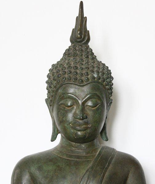 Antique Thai Buddha statue ABA66M