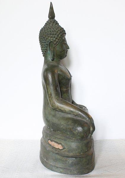 Antique Thai Buddha statue ABA66M3