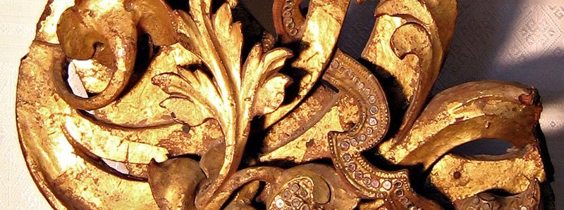 Rare antique Buddhist temple sculpture wood carving ABA09M3
