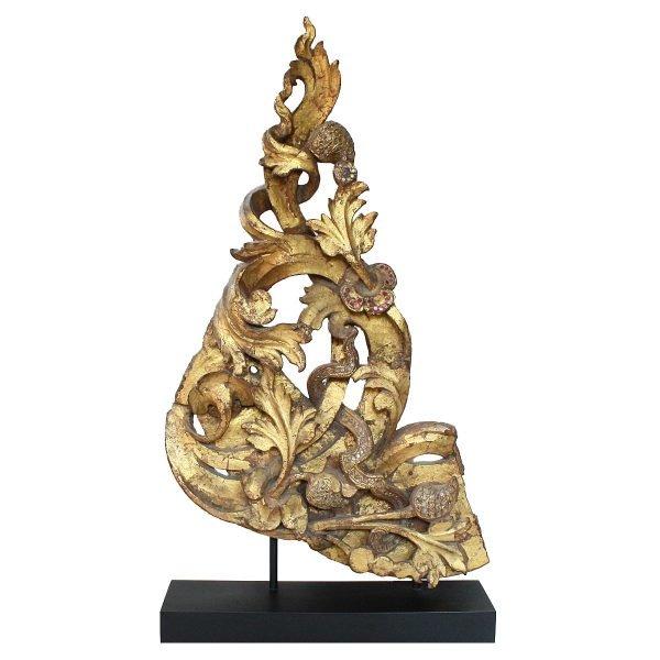 antique Buddhist temple sculpture