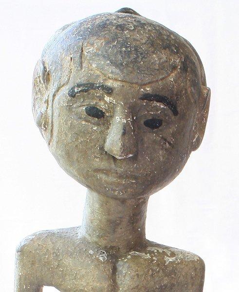 "Javanese ""Loro Blonyo"" Wood Carving Statues EUO119M"