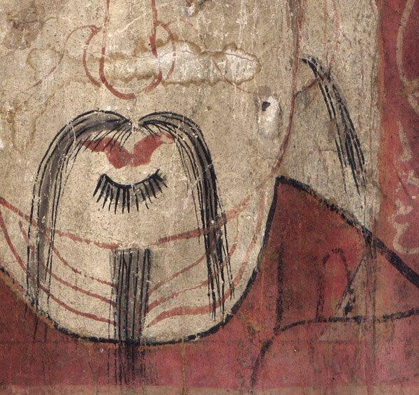 antique Yao Taoist Mask Painting AAO01M4