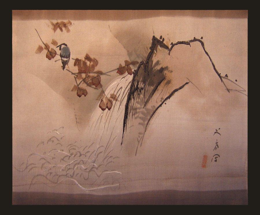 Antique Silk Kimono Meiji Period Silk Art