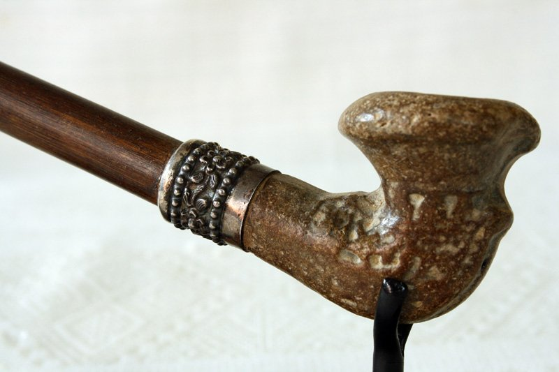Antique hill tribe tobacco pipe Laos EAP17M