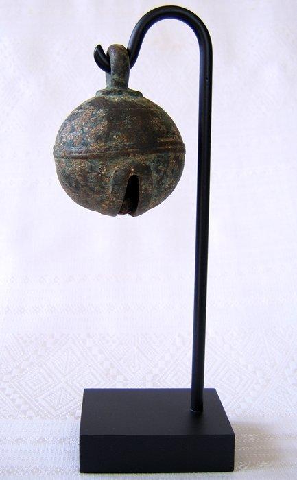 18th century bronze elephant bell EBB26M