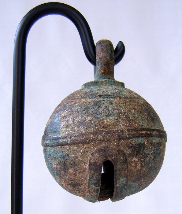 18th century bronze elephant bell EBB26M3