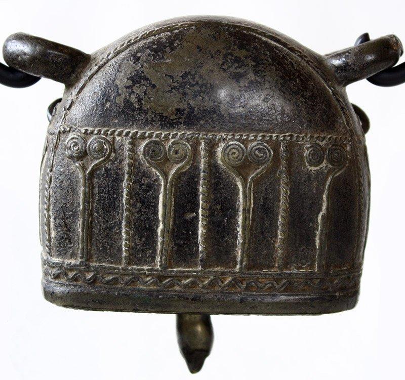 Antique bronze Burmese buffalo bell EBB42M