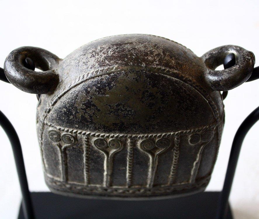 Antique bronze Burmese buffalo bell EBB42M2
