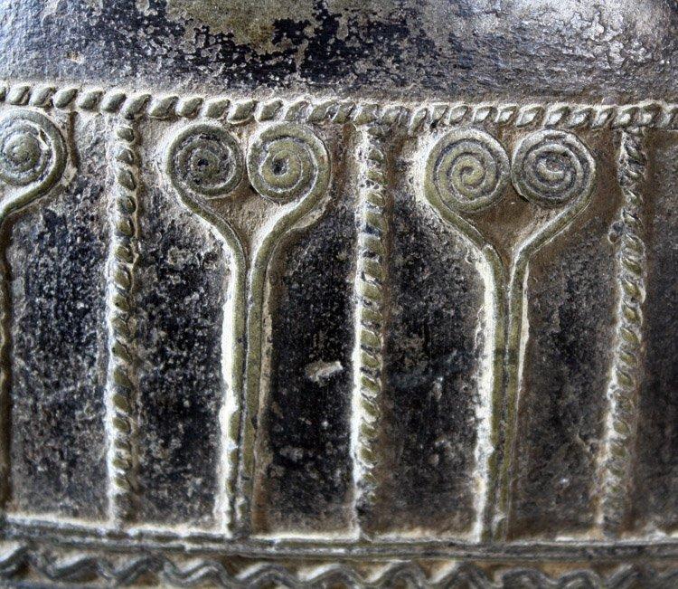 Antique bronze Burmese buffalo bell EBB42M3