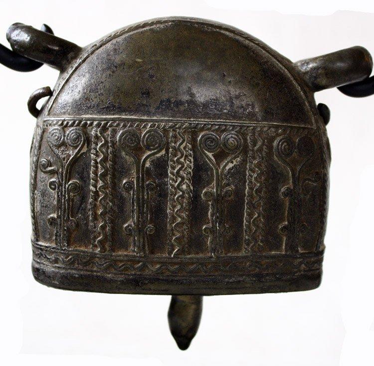 Antique bronze Burmese buffalo bell EBB42M7