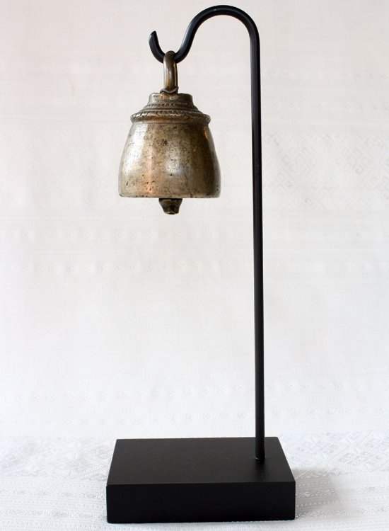 antique bronze Burmese horse bell EBB59M