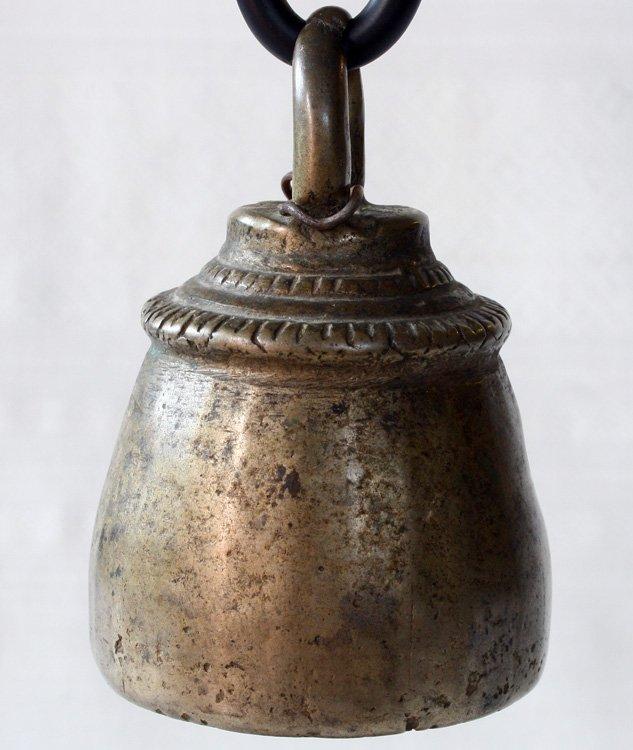 antique bronze Burmese horse bell EBB59M2