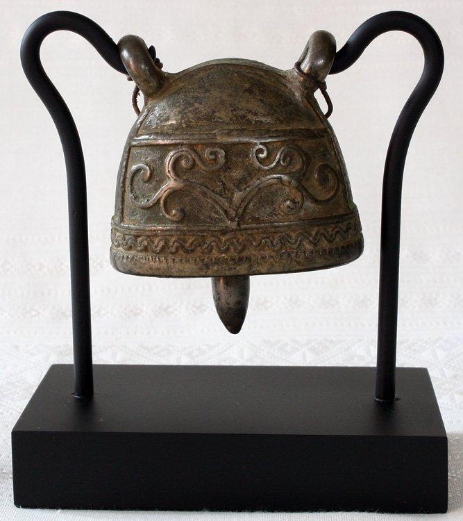 Burmese antique bronze buffalo bell EBB60M