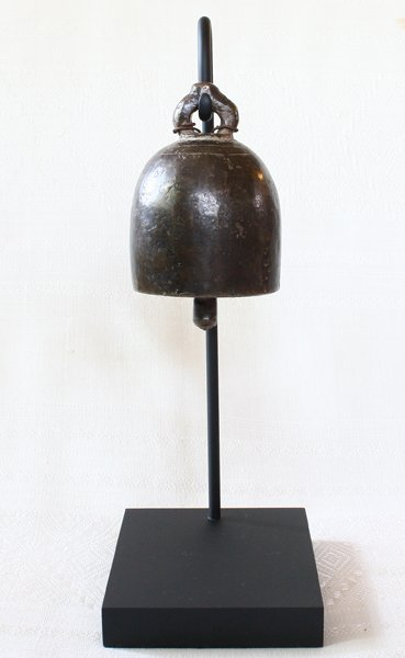 antique temple bronze temple bell from Burma EBB72M
