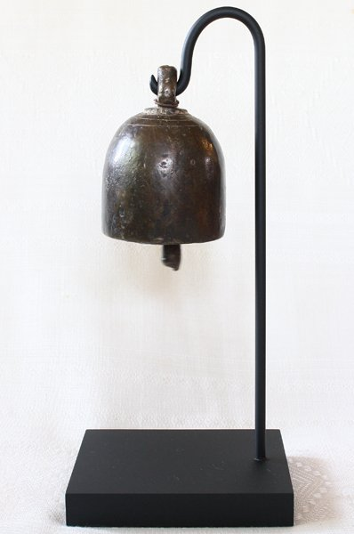 antique temple bronze temple bell from Burma EBB72M2
