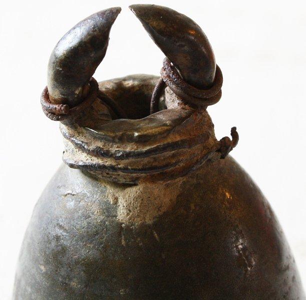 Antique temple bell Laos EBB74M4