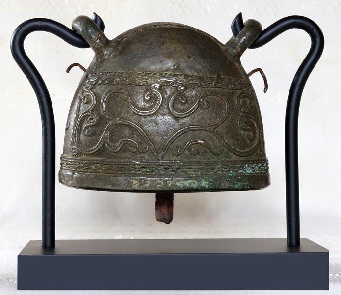 antique bronze Burmese buffalo bell EBB88M