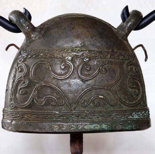 antique bronze Burmese buffalo bell EBB88M2