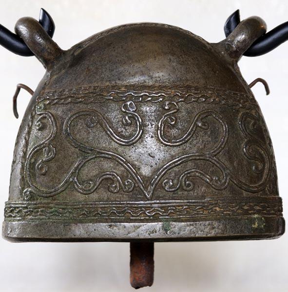 antique bronze Burmese buffalo bell EBB88M3