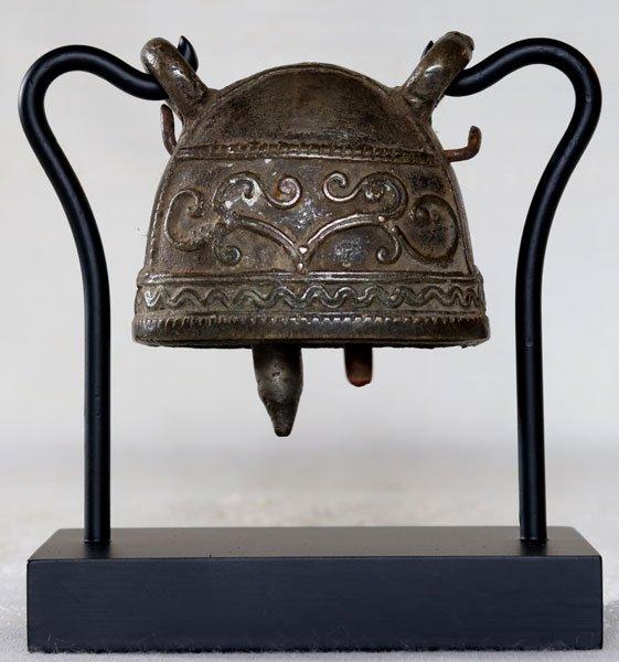 antique bronze Burmese buffalo bell EBB89M