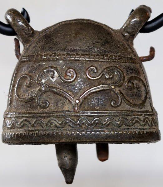 antique bronze Burmese buffalo bell EBB89M2