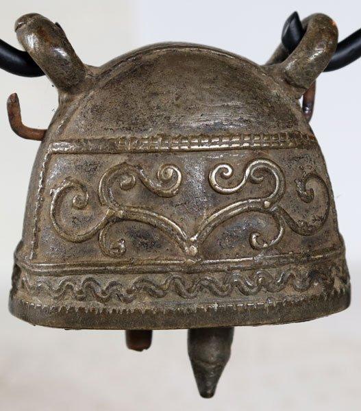 antique bronze Burmese buffalo bell EBB89M3