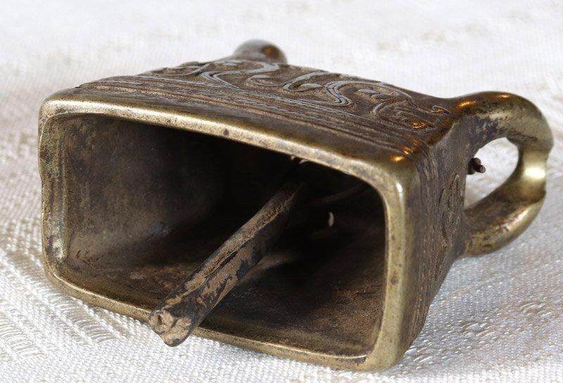 Antique Burmese Bronze Bell EBB90M6