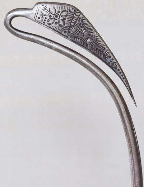 antique silver Hmong torque ETJ180M2