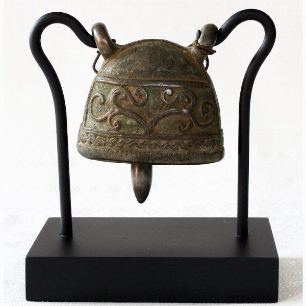 Burmese antique bronze buffalo bell