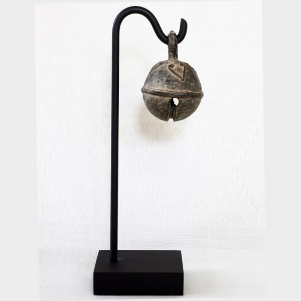 antique bronze cambodian elephant bell