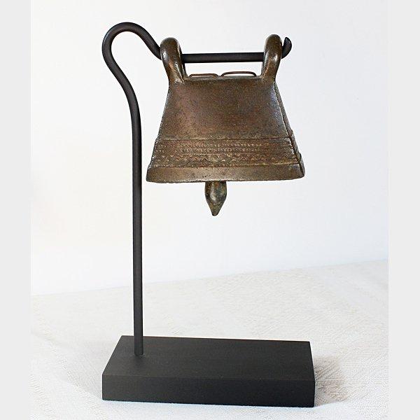 antique burmese bronze bell