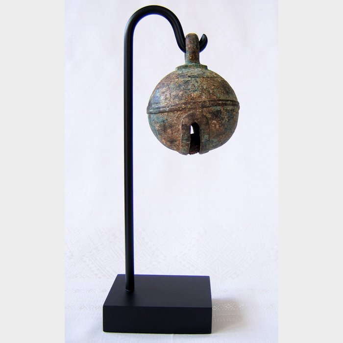 18th century bronze elephant bell