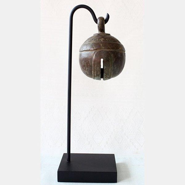 Antique bronze elephant bell EBB50