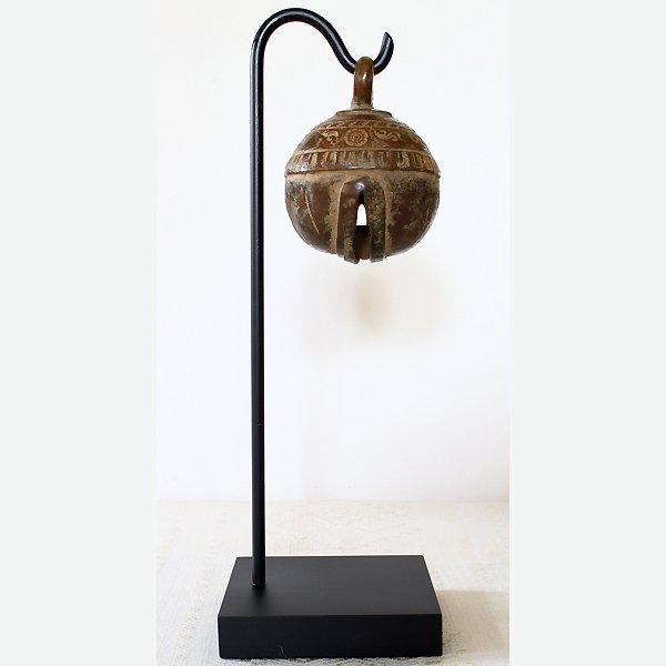 antique bronze elephant bell Burma