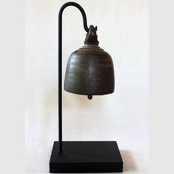 antique bronze temple bell
