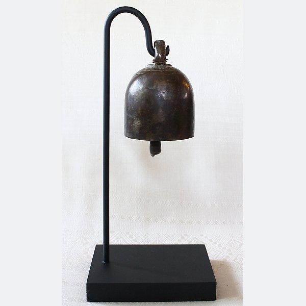 antique bronze Burmese temple bell