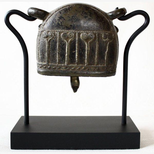 antique bronze burmese buffalo bell