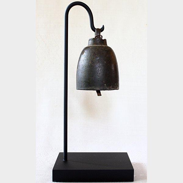 antique bronze temple bell Laos