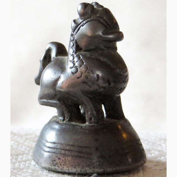 Asian antique beast opium weight Burma