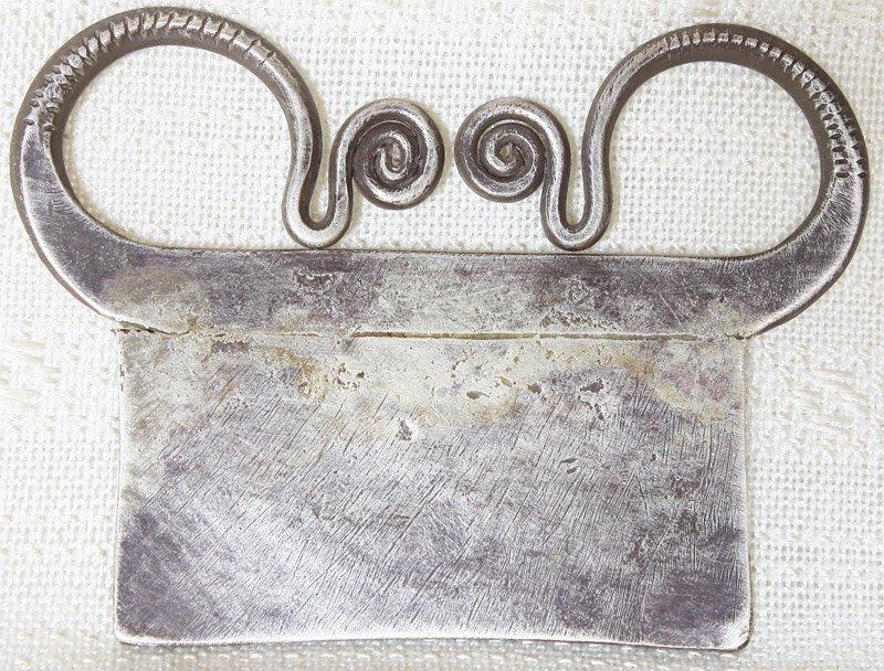 Antique Hmong silver pendant ETJ160 ETJ161M