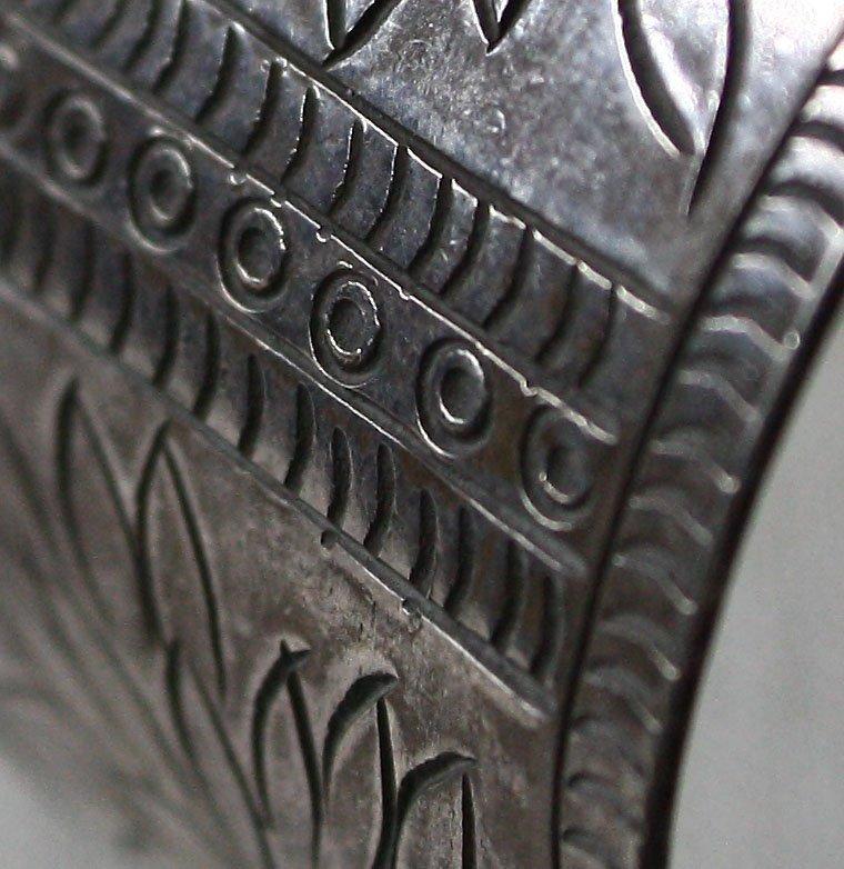 Antique Hmong silver bracelet from Laos ETJ50M2