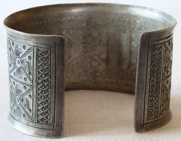 Antique tribal silver bracelet Laos ETJ75M2
