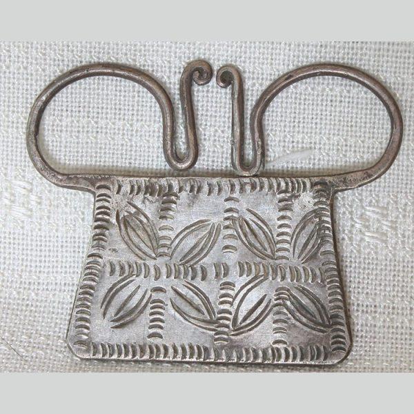 Antique Hmong soul lock pendant