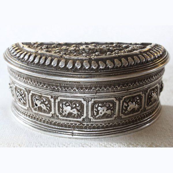 Rare antique Hmong silver box