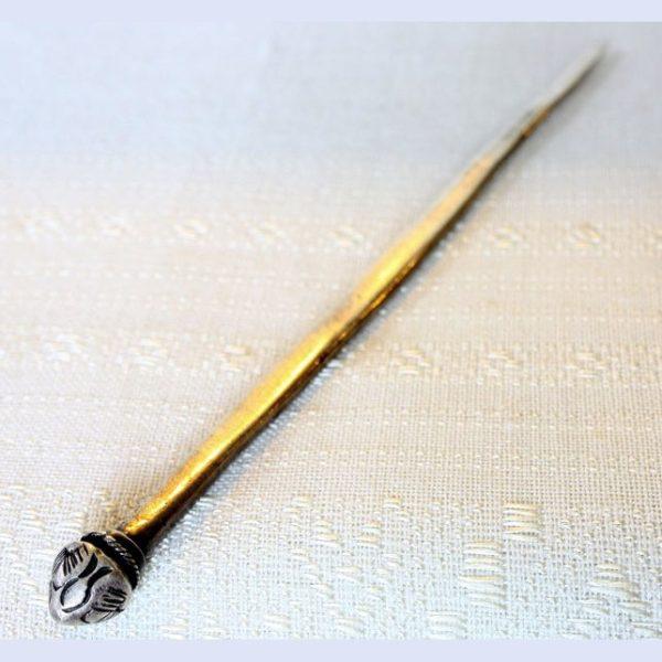antique silver hmong hairpin