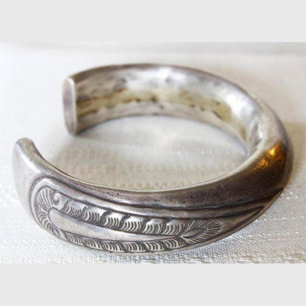 antique_tribal_silver_bracelet