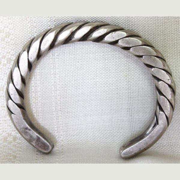 Antique Tribal Silver Bracelet / Bangle