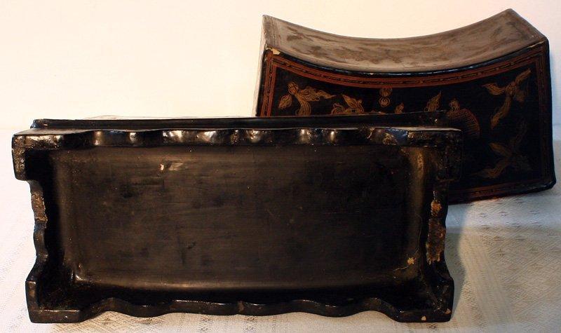 Antique Burmese Lacquerware BLW02M8