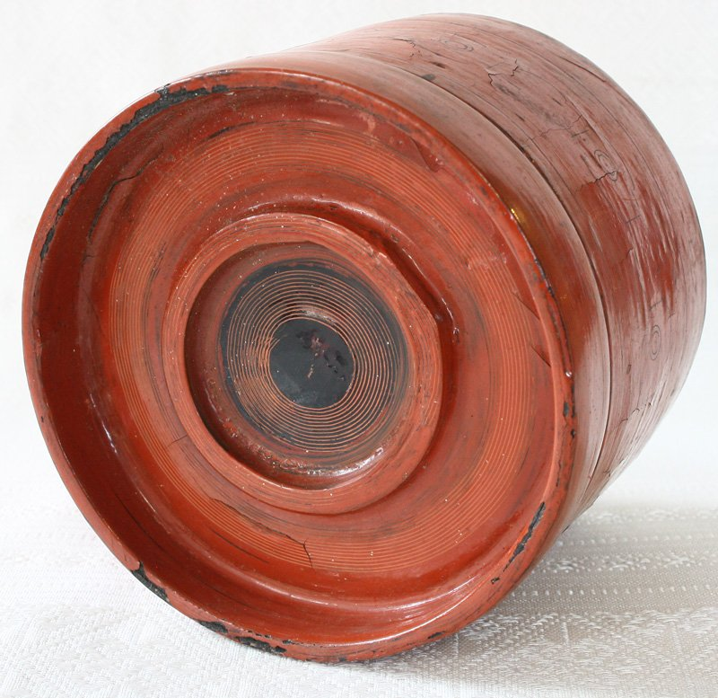 Antique Burmese Lacquerware BLW10M6