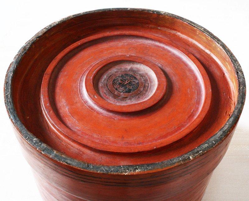 Antique Burmese Lacquerware BLW11M3